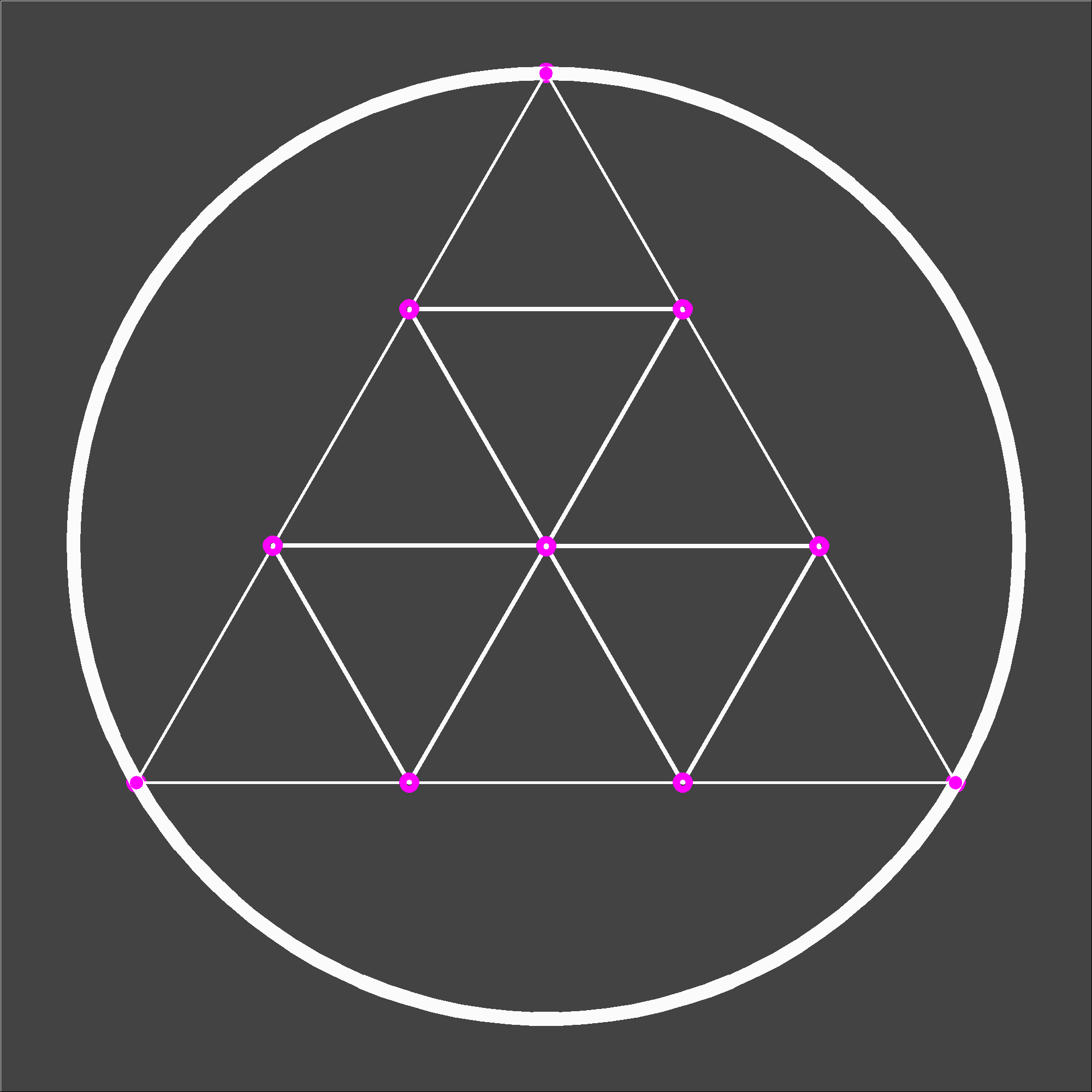 Masterlogo for sacred geometry